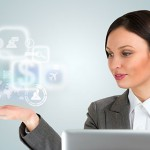 stock-photo-technology-concept-businesswoman-and-virtual-interface-with-web-and-social-media-icons-131791043