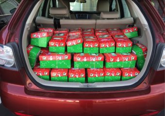 operation christmas child shoeboxes